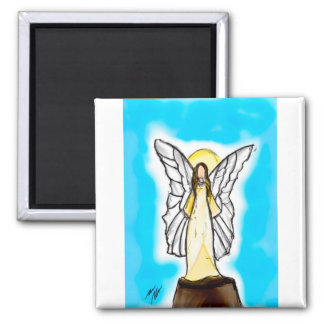 Engel des hellen zeichnenden Magneten Quadratischer Magnet