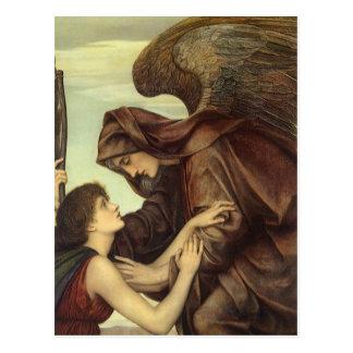 Engel des Todes durch Evelyn De Morgan Postkarte