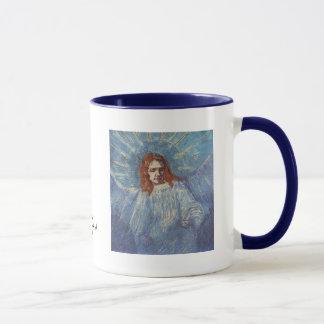 Engel durch Vincent van Gogh Tasse