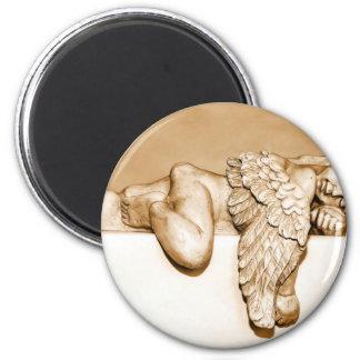 Engel Runder Magnet 5,7 Cm