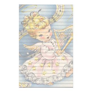 Engelchen mit ihrer Harfe Briefpapier