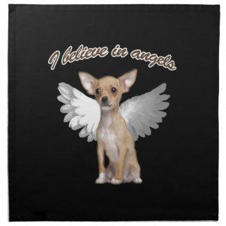 Engels-Chihuahua Stoffserviette