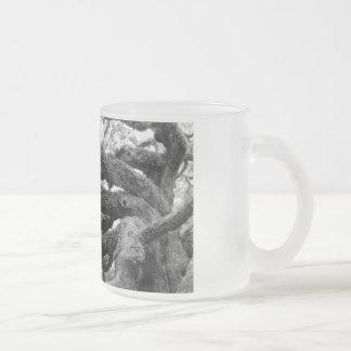 Engels-Eichen-Baumglas-Tasse Matte Glastasse