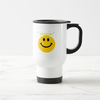 Engels-Smiley Reisebecher