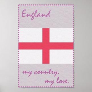 England mein Land meine Liebe Poster