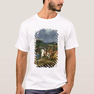 Englische Gefangene in Astorga stellten sich dar T-Shirt