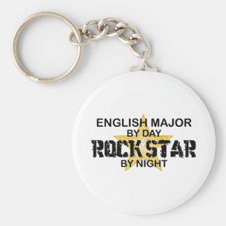 Englischer bedeutender Rockstar Schlüsselanhänger