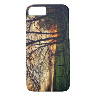 Englischer Landschafts-Sonnenuntergang HDR iPhone iPhone 7 Hülle