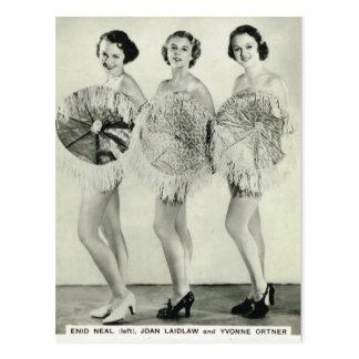 Enid Neal Trio Postkarte