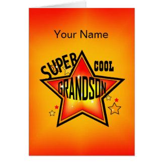 Enkel-super cooler Stern-Gruß Mitteilungskarte