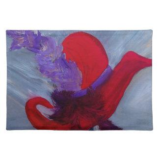 Ensemble Chapeau Rouge Placemat Cloth Place Mat