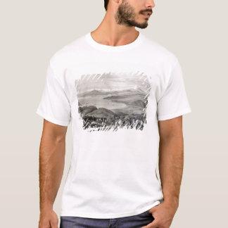 Entfernte Ansicht des Aconcagua-Vulkans T-Shirt