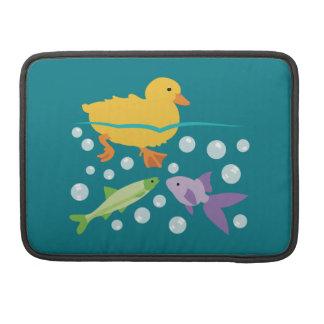 Entlein und Fische MacBook Pro Sleeve