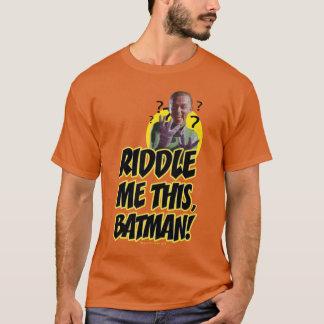 Enträtseln Sie mich dieser Batman T-Shirt