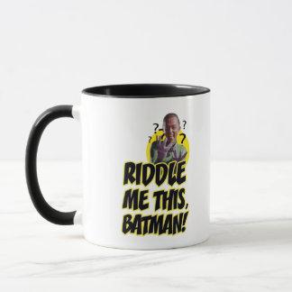 Enträtseln Sie mich dieser Batman Tasse