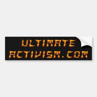 ENTSCHEIDENDER ACTIVISM.COM Autoaufkleber