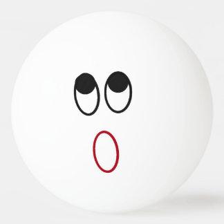 Entsetzter Gesichts-Klingeln Pong Ball Tischtennis Ball