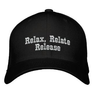 Entspannen Sie sich, beziehen Sie sich, Relelse_ s Besticktes Baseballcap