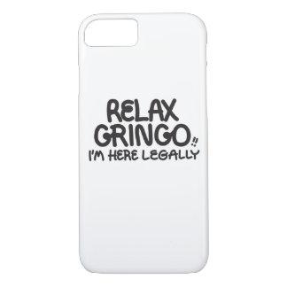 Entspannen Sie sich Gringo!! Rufen Sie Fall an iPhone 8/7 Hülle