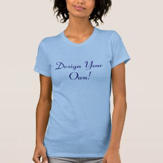 Entwerfen Sie Ihr eigenes Ozean-Blau und T-shirts