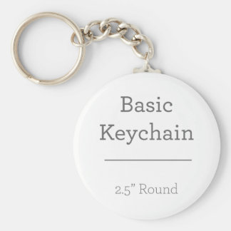 Entwerfen Sie Ihr eigenes rundes Foto Keychain Schlüsselanhänger