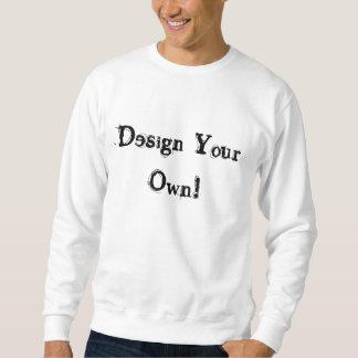 Entwerfen Sie Ihr eigenes Weiß Sweatshirt