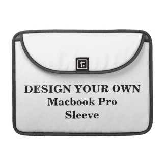 Entwerfen Sie Ihre eigene Macbook Prohülse MacBook Pro Sleeves