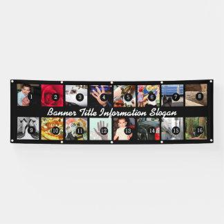 Entwerfen Sie Ihre eigenen Bilder der Fahnen-16 Banner