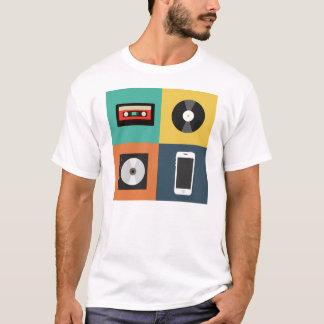 Entwicklung des Audio- T-Shirt