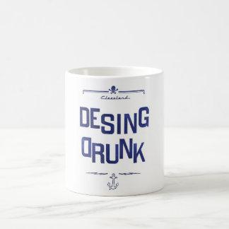 Entwurf betrunken tasse