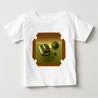Entwurf des Gold3d Baby T-shirt