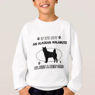 Entwürfe des besten Freunds des ALASKISCHEN Sweatshirt