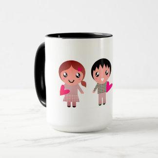 Entwurfs-Tasse mit Emo Kindern Tasse