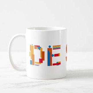 Entwurfs-Tasse Tasse