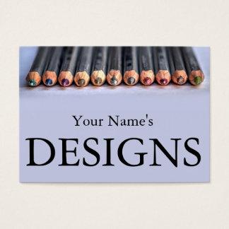 Entwurfs-Visitenkarten Jumbo-Visitenkarten
