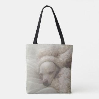 Entzückende Cozy Chihuahua-Taschen-Tasche