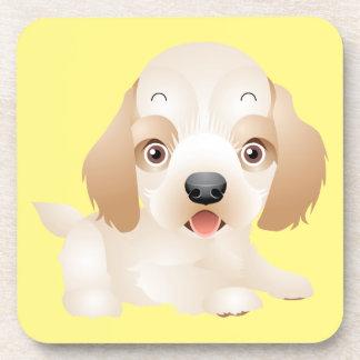 Entzückende Welpen-Hundemehrfache Produkte Untersetzer