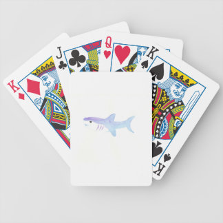 Entzückender Haifisch Bicycle Spielkarten
