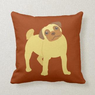 Entzückender Mops-Hund Kissen
