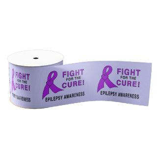 Epilepsie-Bewusstseins-Band: Kampf für eine Ripsband