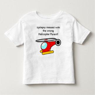 Epilepsie verwirrt mit dem falschen kleinkind t-shirt