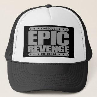 EPISCHE RACHE - Erfolg ist die beste Rückzahlung Truckerkappe