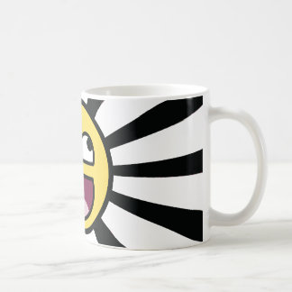 Epischer smiley kaffeetasse