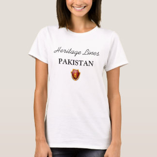 Erbe zeichnet PAKISTAN-T - Shirt-Charmeur W T-Shirt