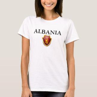 Erbe zeichnet Spitzen-ALBANIEN erhabenes W T-Shirt