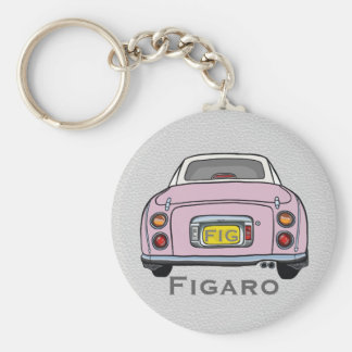 Erblassen Sie - rosa Nissan Schlüsselanhänger