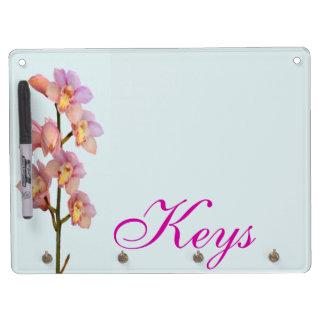 Erblassen Sie - rosa Orchideen Whiteboard