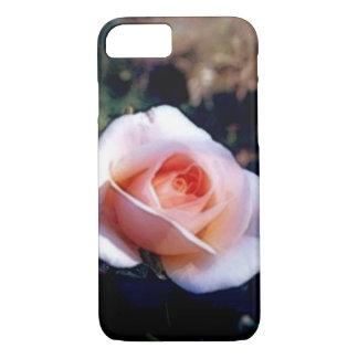 Erblassen Sie - rosa Rose iPhone 7 Kasten iPhone 8/7 Hülle
