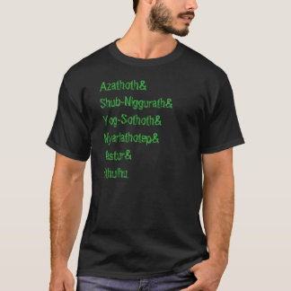 Erblicken Sie die älteren Übel T-Shirt