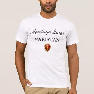 Erblinien T - Shirt PAKISTAN sublim